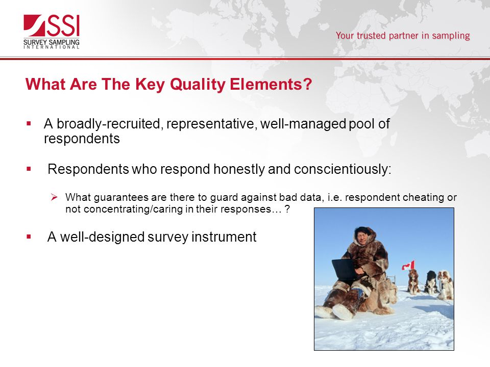 What Are The Key Quality Elements.