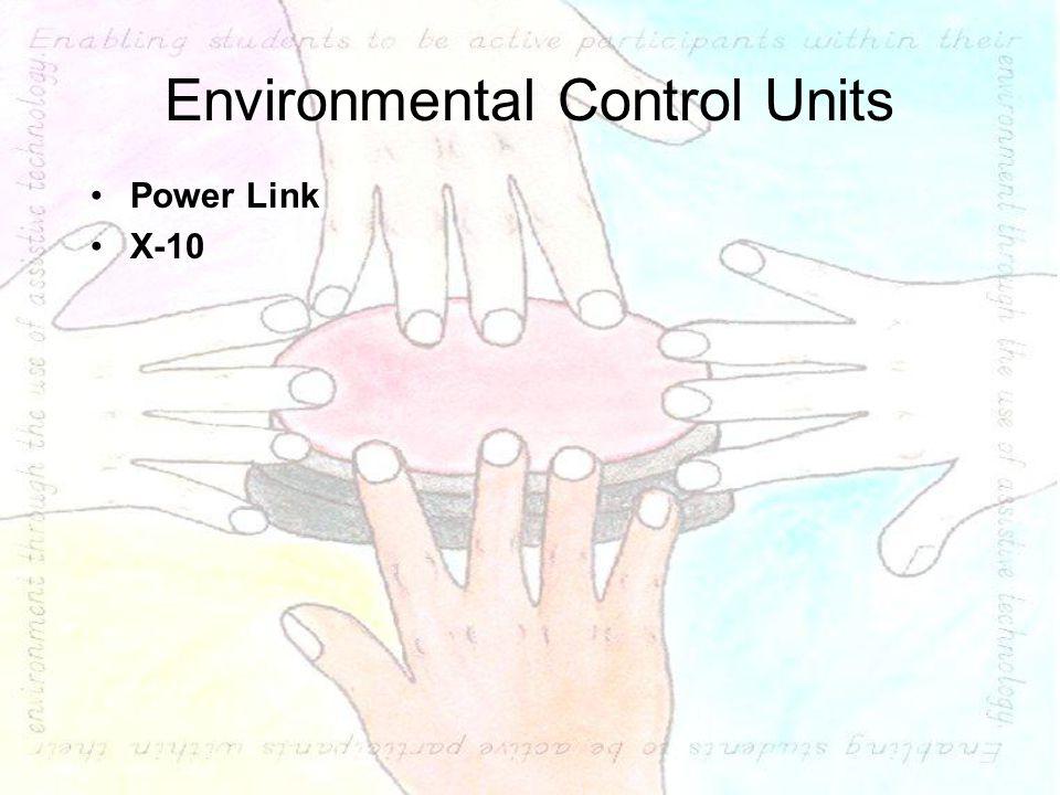 Environmental Control Units Power Link X-10