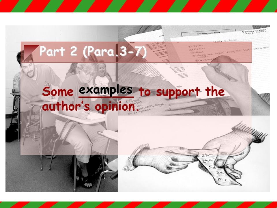 Part 1 (Para.1-2) Raise a problem: Students can _____ their term papers from the ______.