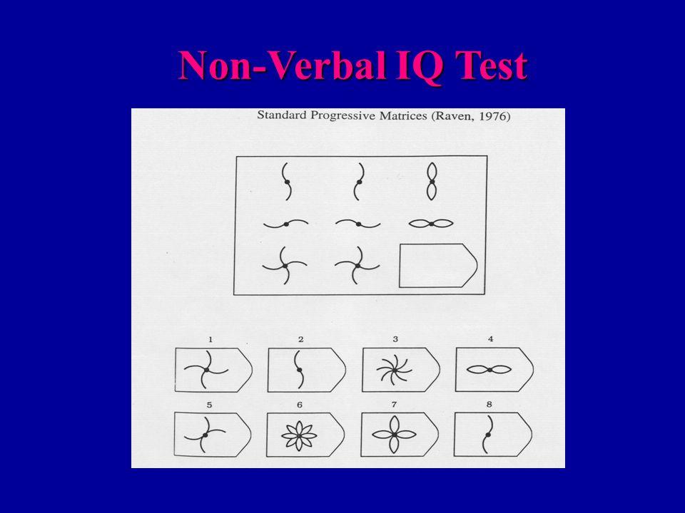 Non-Verbal IQ Test Non-Verbal IQ Test