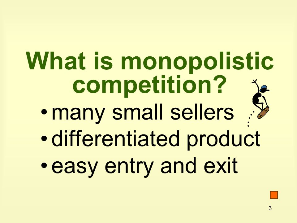 24 What is nonprice competition? Competition in ways other than pricing policies