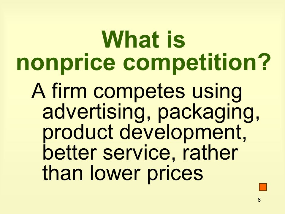 37 Key Concepts What is imperfect competition.What is monopolistic competition.