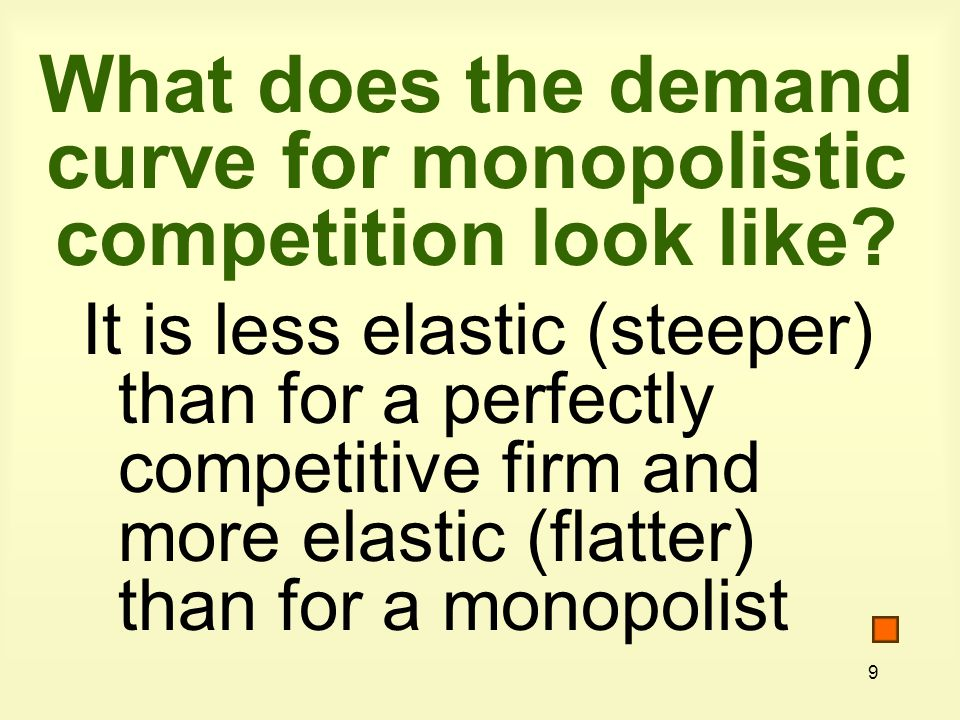 10 What are examples of monopolistic competition.