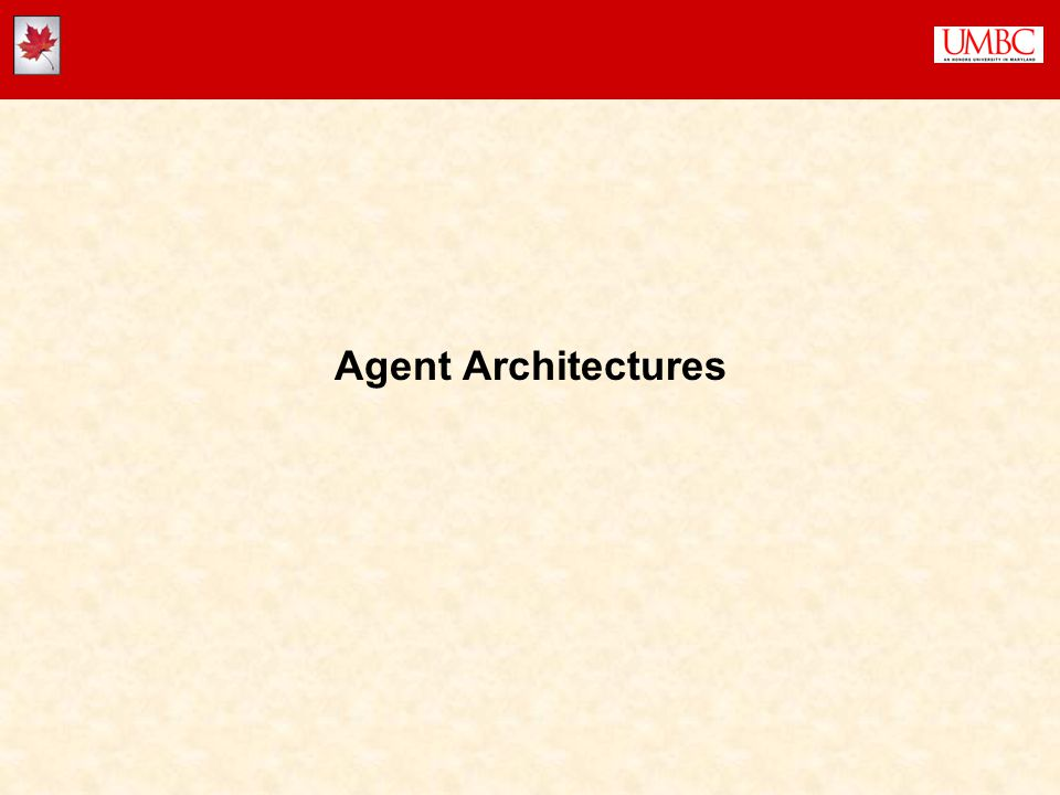 4  Logical Architectures  Cognitive Architectures  Reactive Architectures  Theories of Mind