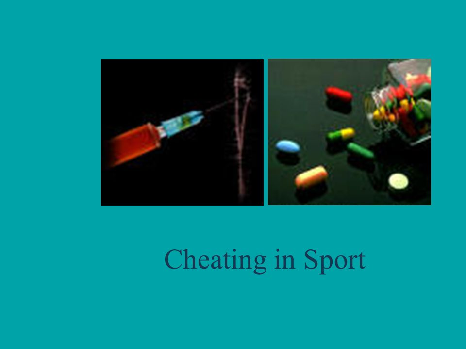 Cheating in Sport