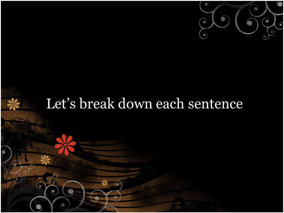 Sentence 1 - Introduction The topic sentence states an opinion.