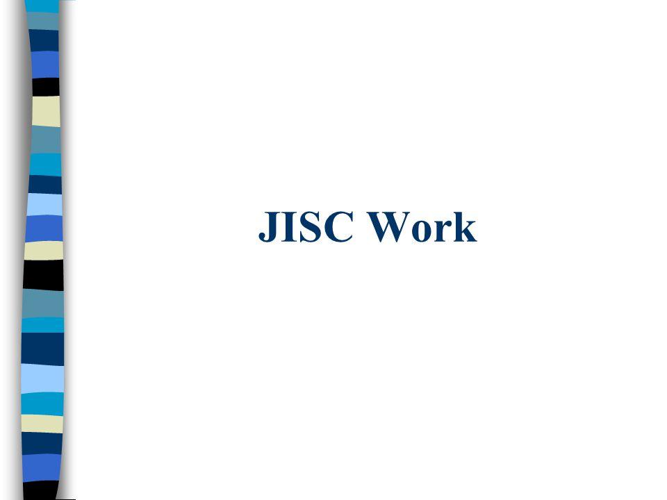 JISC Work