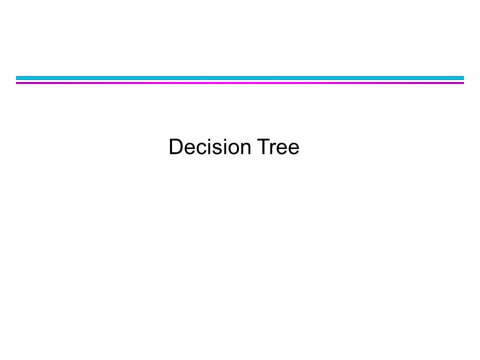 2 Outline l General Approach to Solving a Classification Problem l Decision Tree Induction