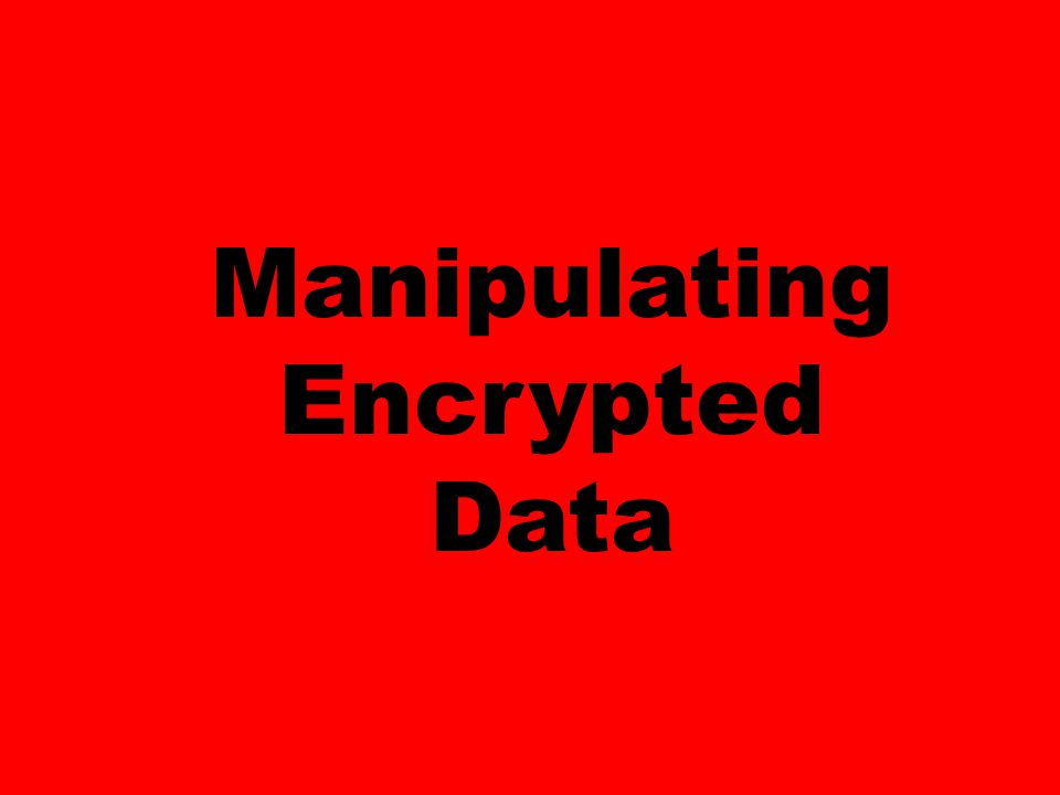 You store your data in the cloud, encrypted of course.