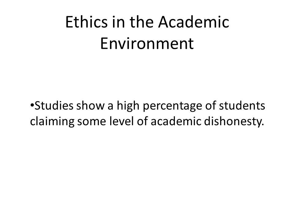 What is Academic Dishonesty.