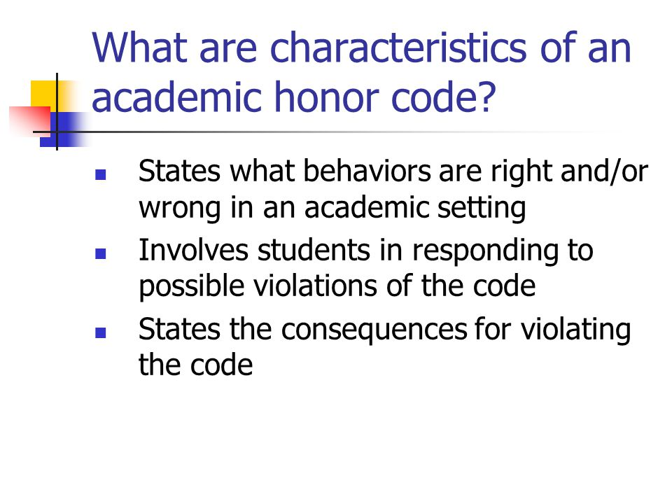 Who uses academic honor codes? Public schools Colleges Universities Military Academies