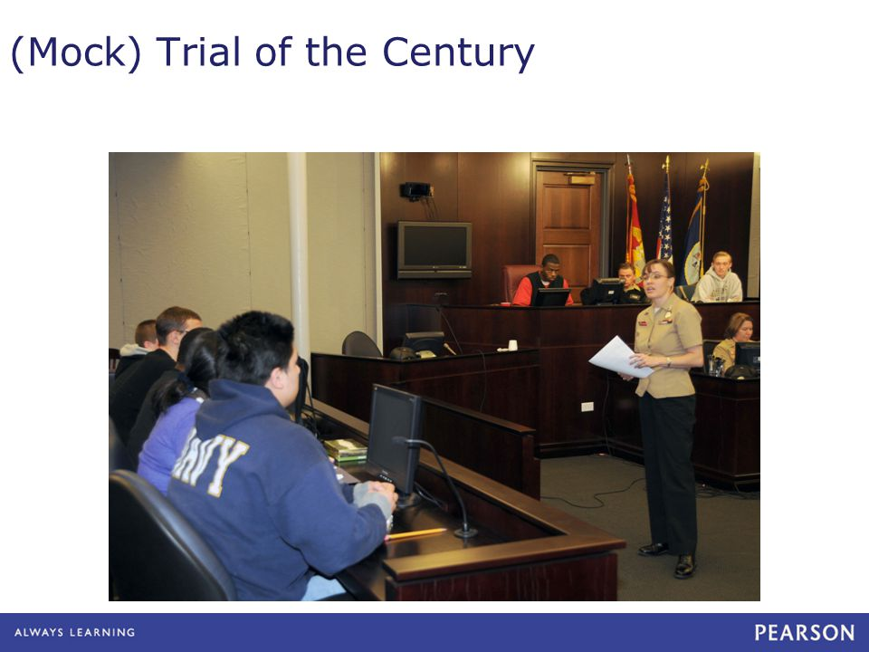 (Mock) Trial of the Century