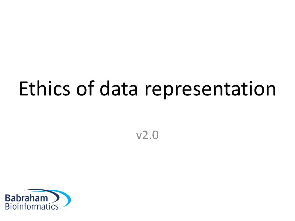 Ethics of data representation v2.0