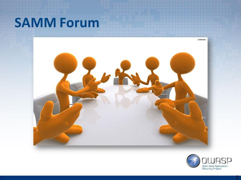 SAMM Forum 24