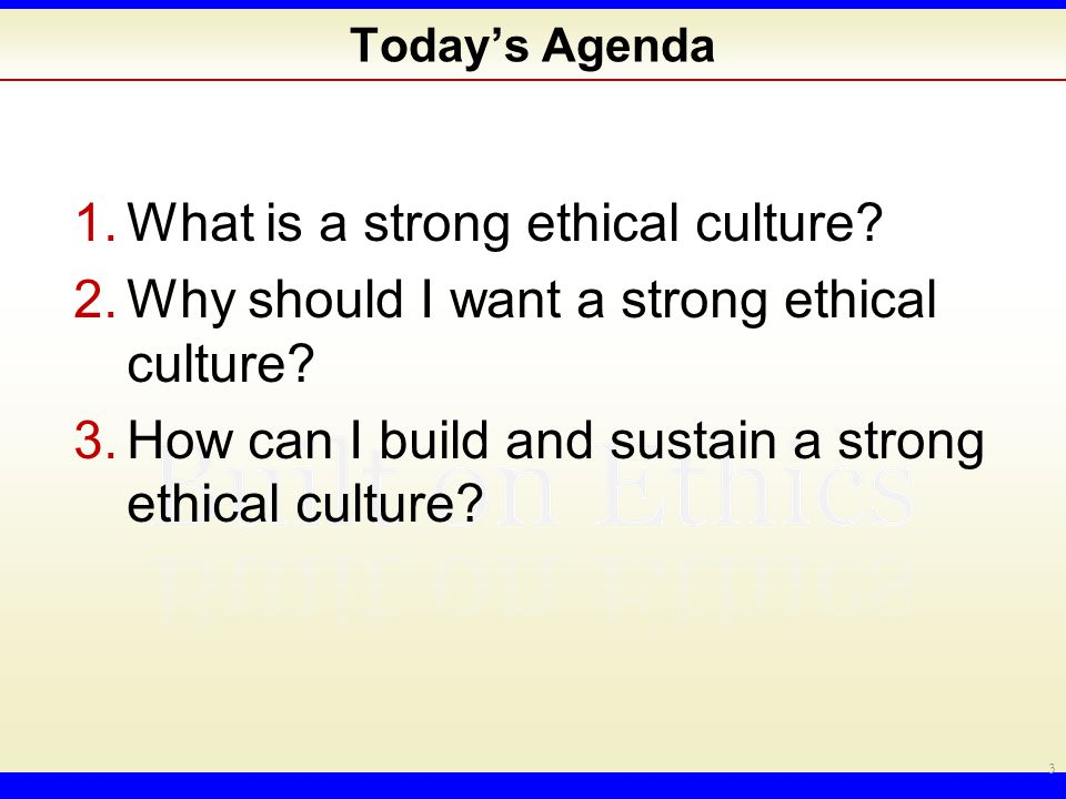 1. I am an ethical person. A.Agree B.Disagree 4
