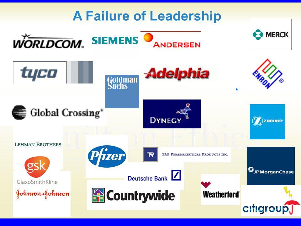 A Failure of Leadership