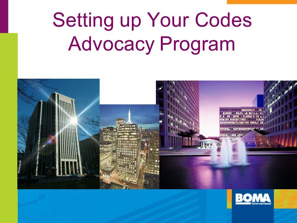 Setting up Your Codes Advocacy Program 280 Plaza, Columbus, Ohio CBRE