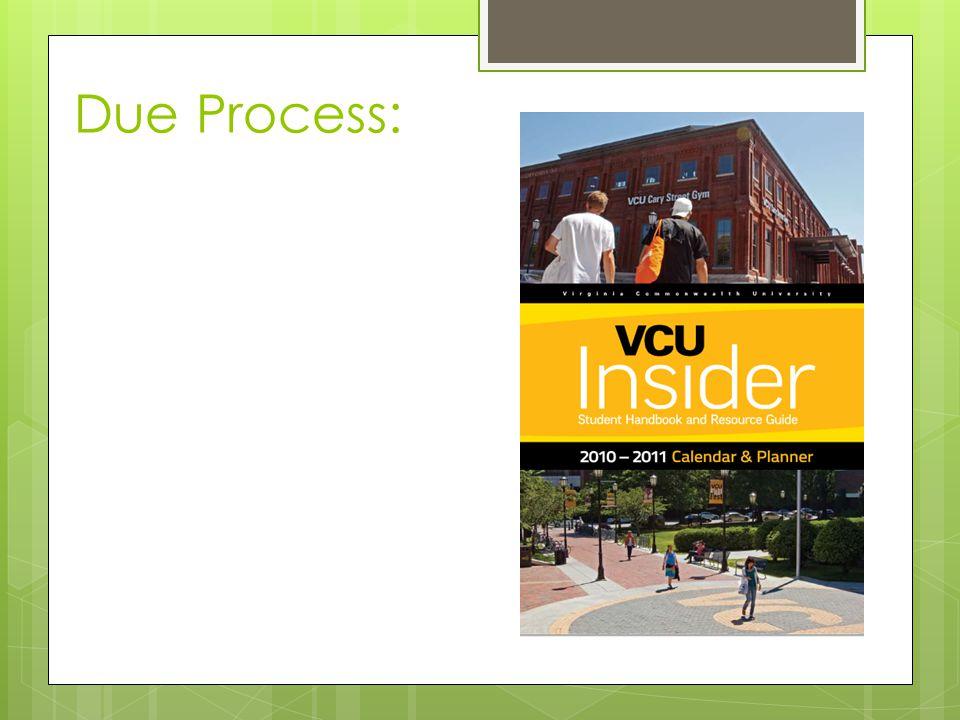 Due Process:
