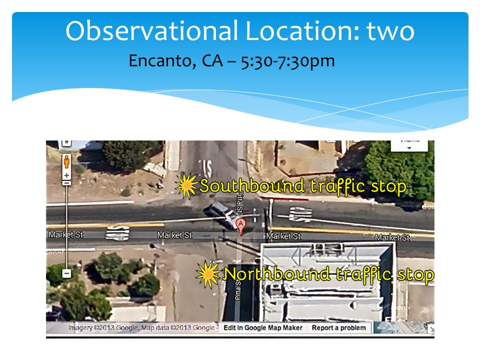 Observational Location: two Encanto, CA – 5:30-7:30pm