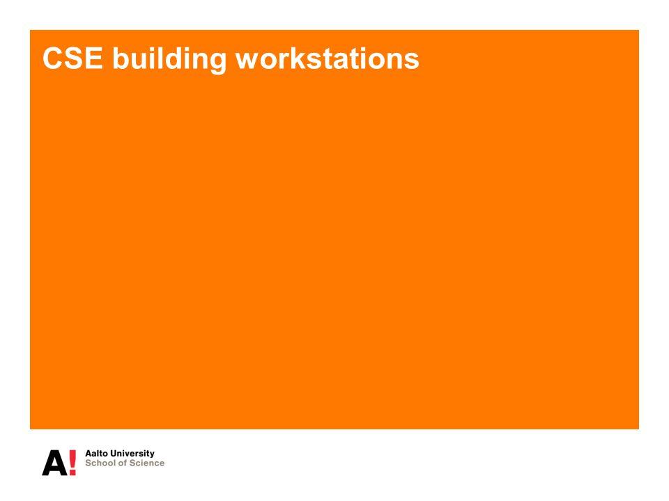 CSE building workstations