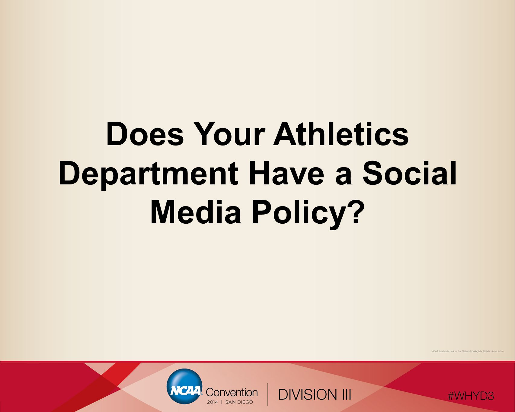 Does Your Athletics Department Have a Social Media Policy?