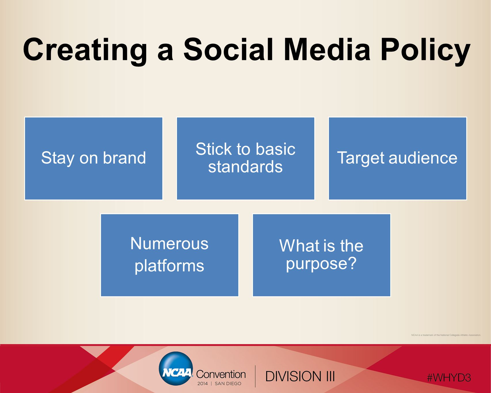 Social Media Strategy Simmons College College-wide:Broaden the reach of college's messaging, reinforce the brand.