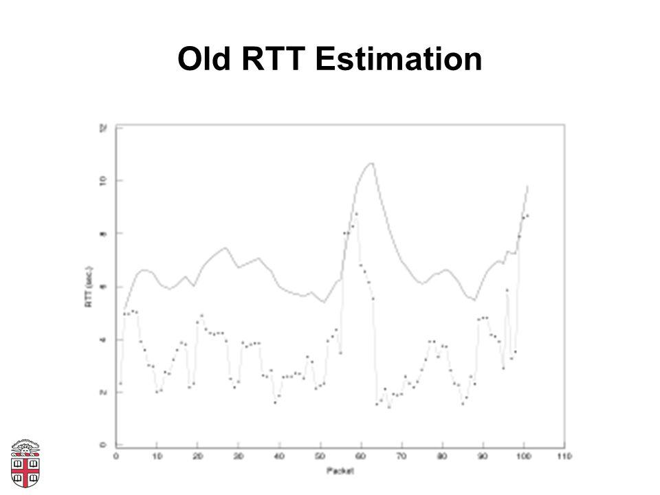 Old RTT Estimation