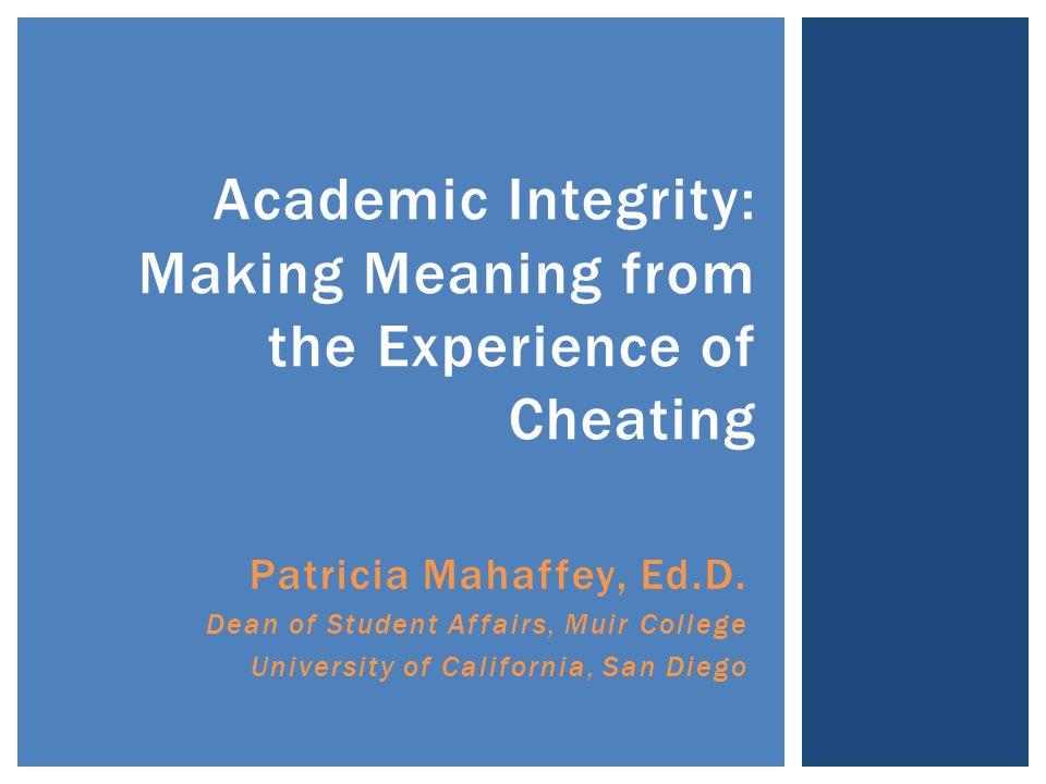Patricia Mahaffey, Ed.D.