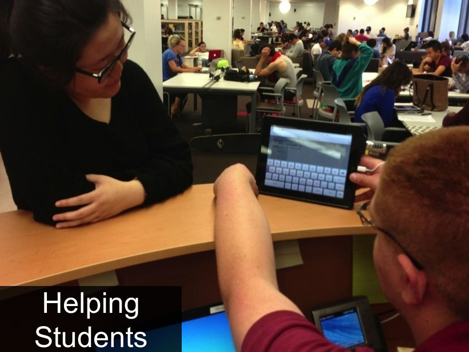 Helping Students