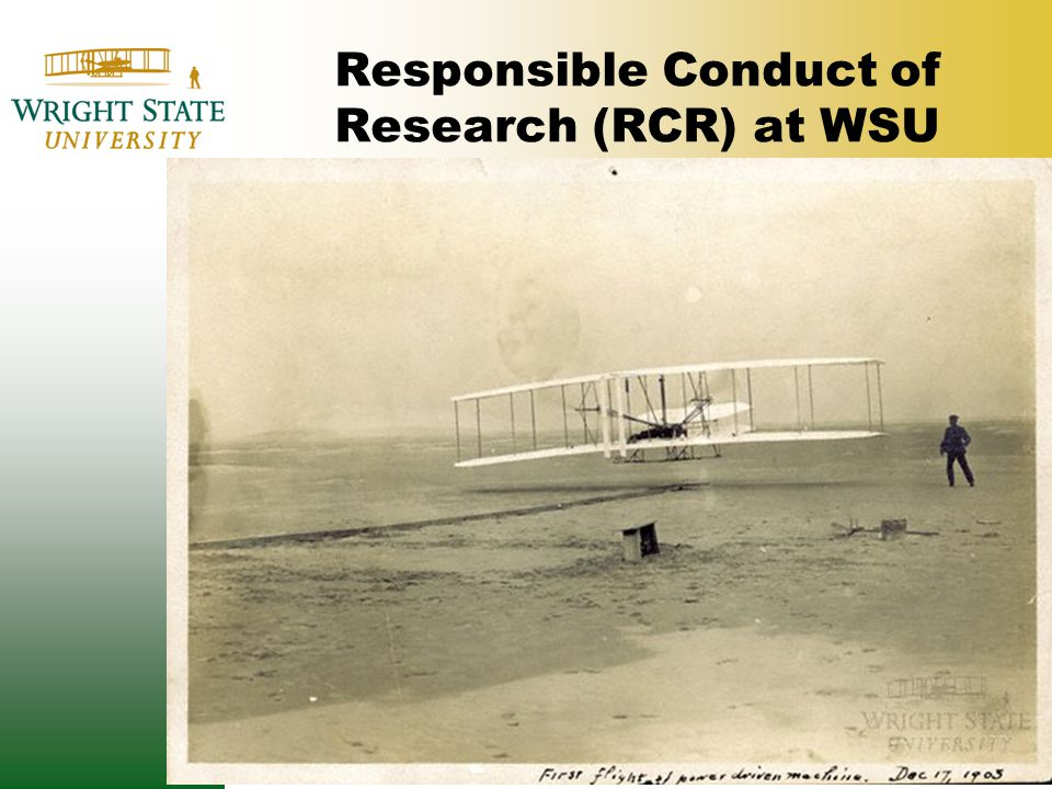 RCR Requirements are Discipline Specific.