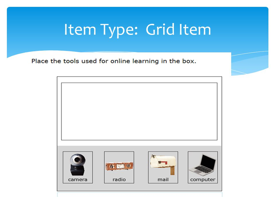 Item Type: Grid Item