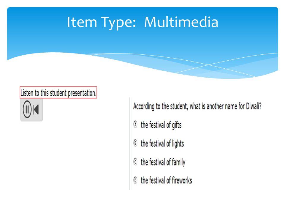 Item Type: Multimedia