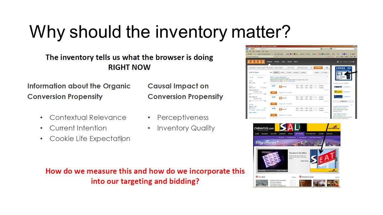 Why should the inventory matter