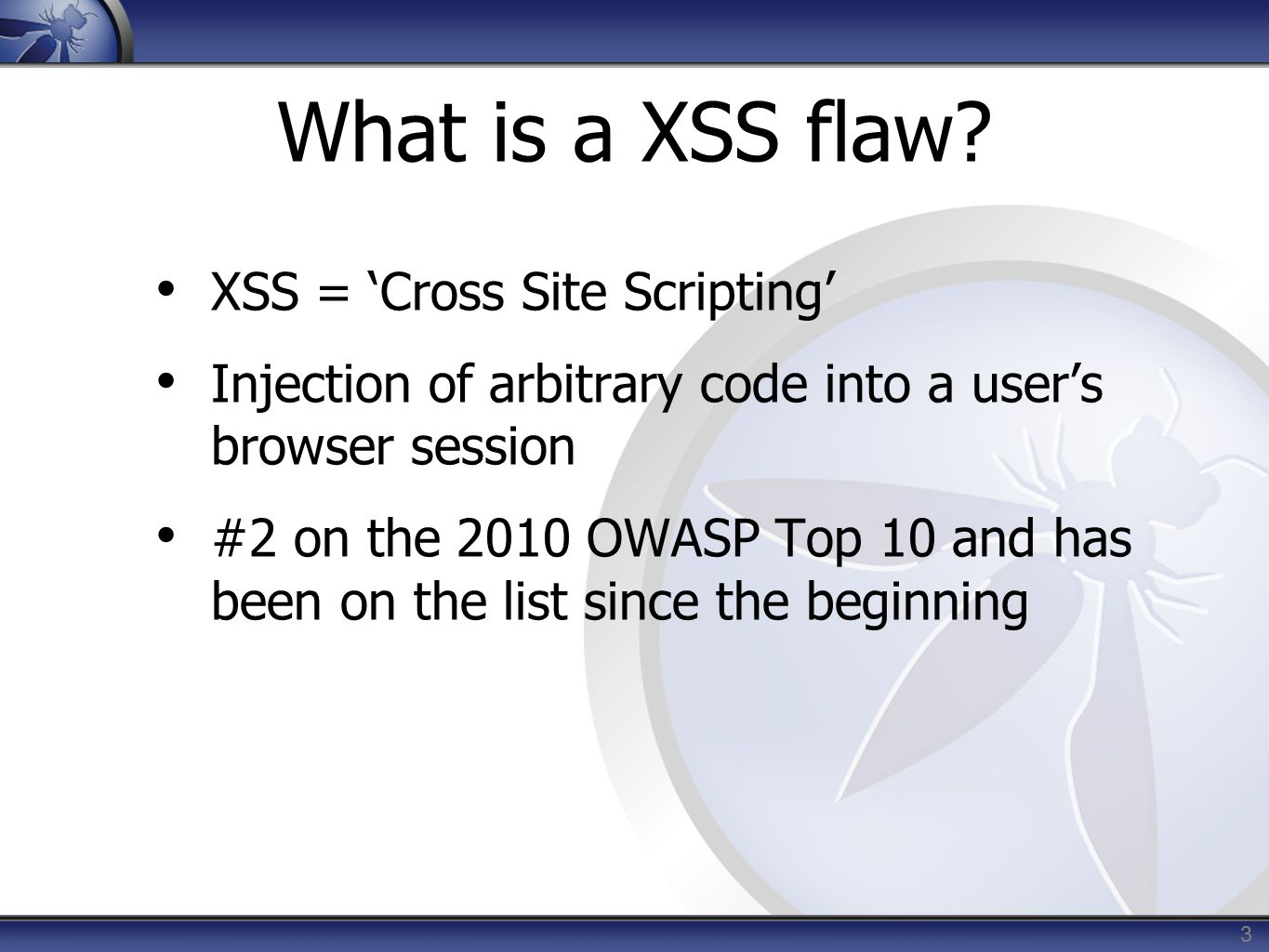 Anti-XSS Frameworks.NET – MS AntiXSS Library http://msdn.microsoft.com/en-us/security/aa973814 http://msdn.microsoft.com/en-us/security/aa973814 JAVA,.NET – OWASP AntiSAMY https://www.owasp.org/index.php/Category:OWASP_AntiSa my_Project https://www.owasp.org/index.php/Category:OWASP_AntiSa my_Project Javascript – Google CAJA http://code.google.com/p/google-caja/ http://code.google.com/p/google-caja/ 14