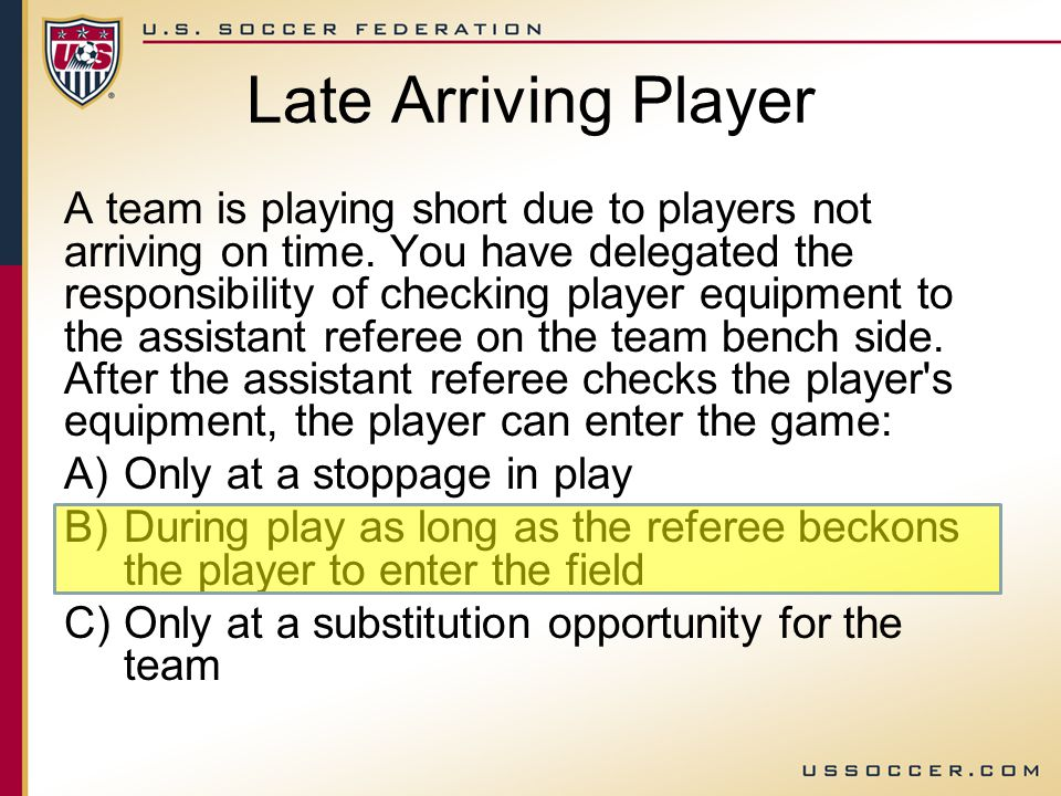 If the ball becomes defective during play … The normal restart is what.