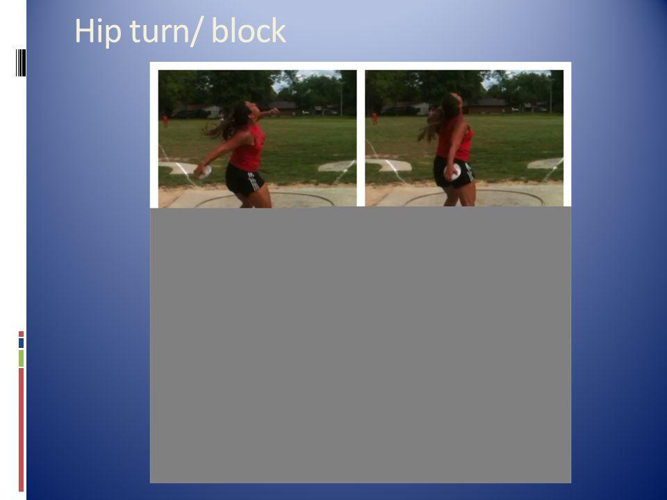 Hip turn/ block