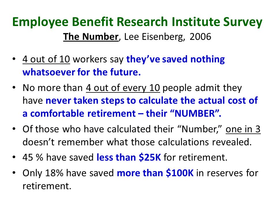 Assessing current and future living expenses Work through Retirement Needs Worksheet Incorporate you desired retirement lifestyle into your projections – General rule of thumb is 75 – 80% of pre-retirement income will be needed – HOWEVER – that does not factor in you individual preferences for how you'd like to spend retirement.