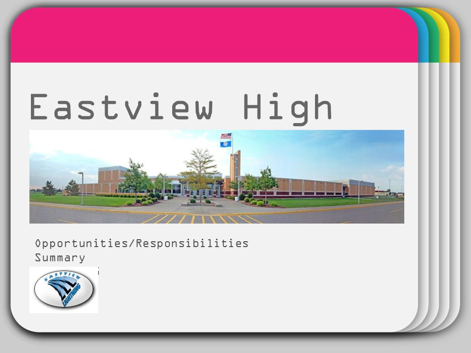 WINTER Template Eastview High School Opportunities/Responsibilities Summary 2014-2015