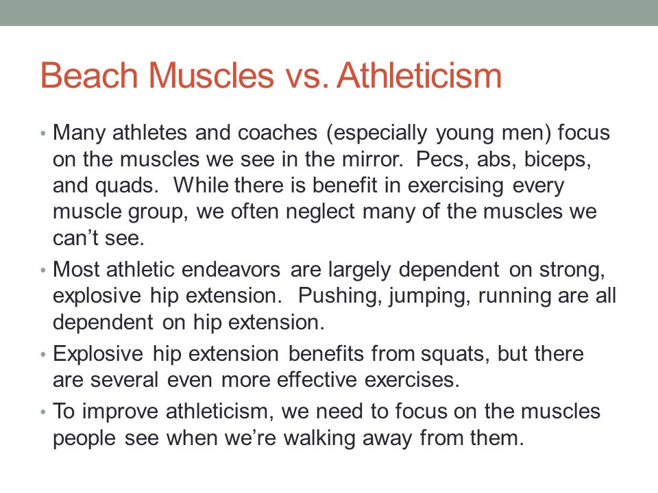 Beach Muscles vs.