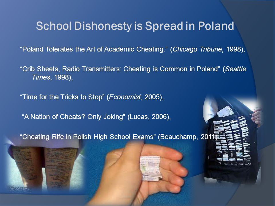Preventive Strategies Polish students: 1.