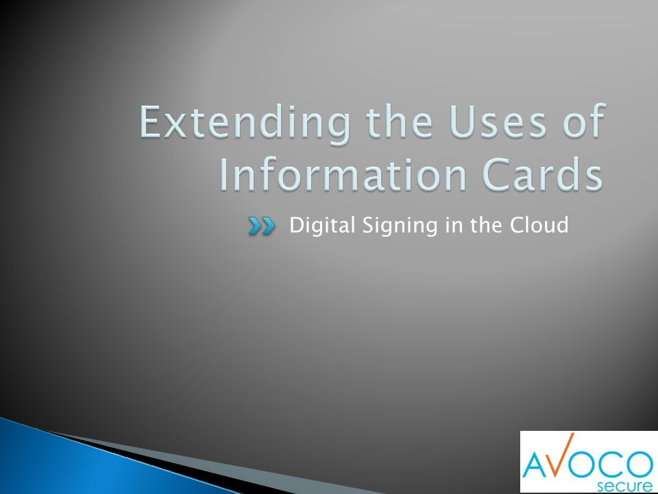 Digital Signing in the Cloud