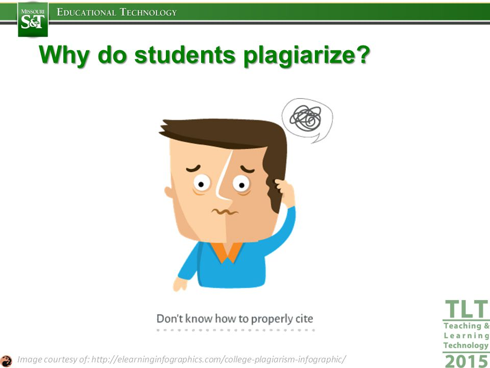 Why do students plagiarize.