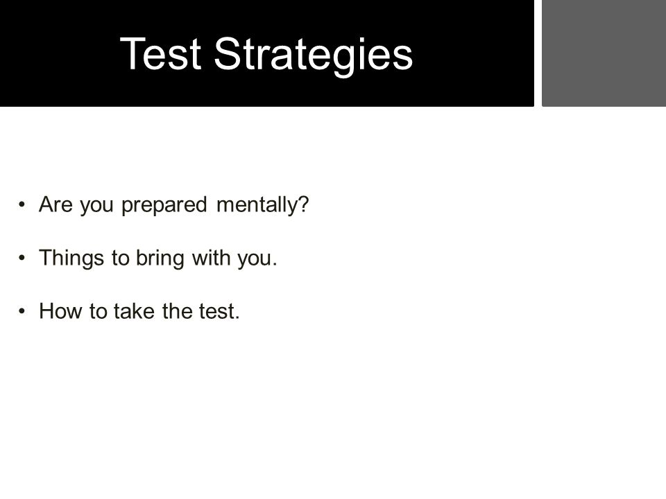 PMP Roadmap Test Strategies that Work Controlling Stress Taking The Test