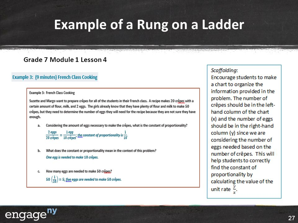 Example of a Rung on a Ladder Grade 7 Module 1 Lesson 4 27