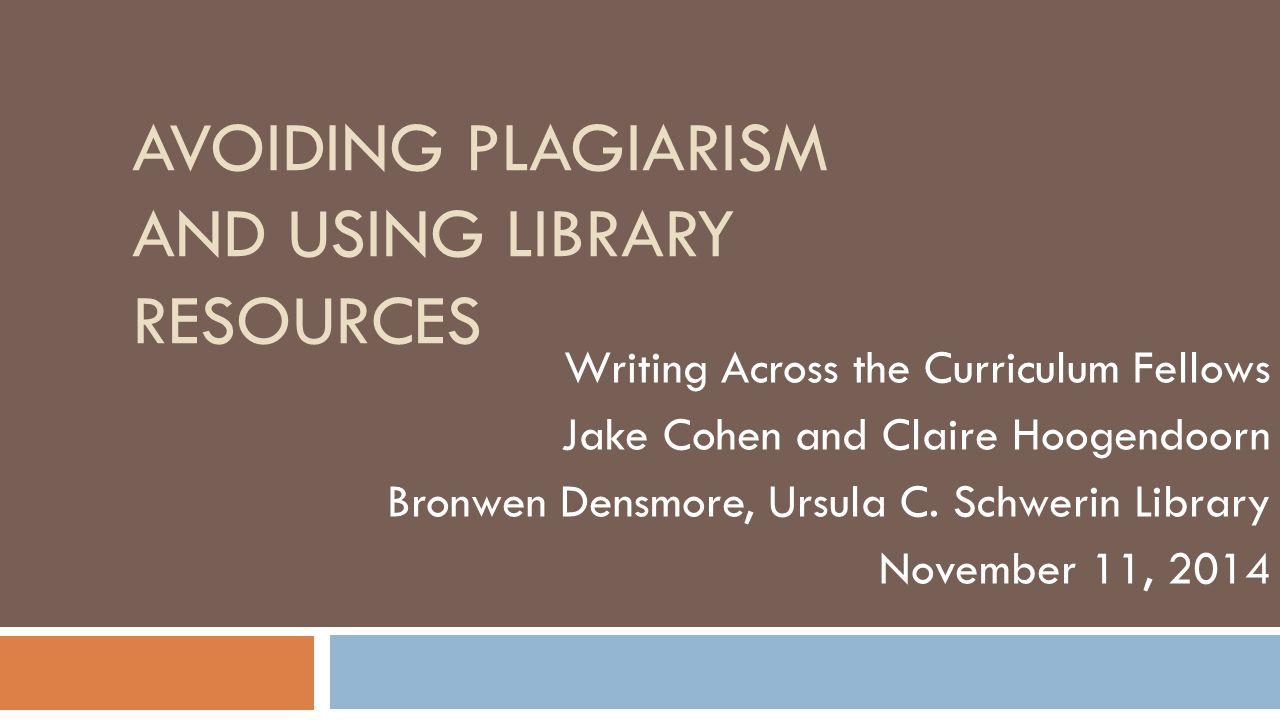 Workshop Agenda 2 I.Understanding plagiarism II. Strategies for preventing plagiarism 1.