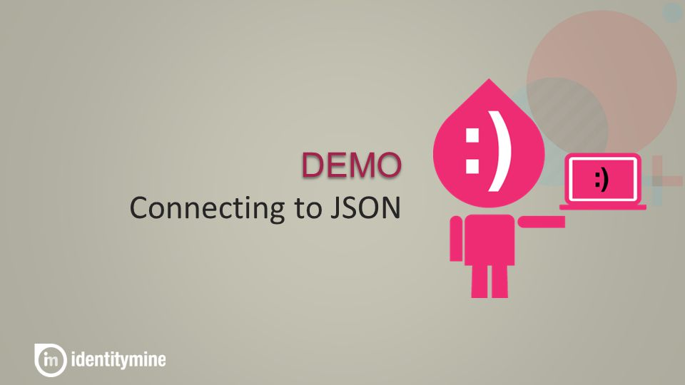 DEMO Connecting to JSON