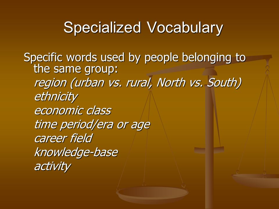 Dialect is the SPOKEN LANGUAGE used by a large group of people.