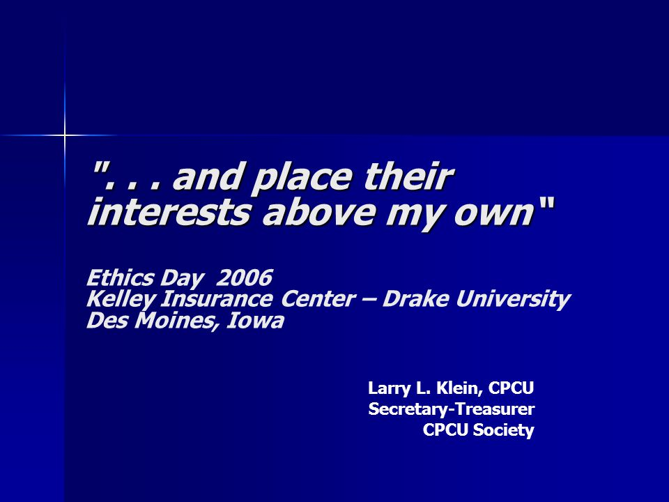 and why CPCUs prefer the message of Carly Fiorina… The only thing to do with good advice is pass it on.
