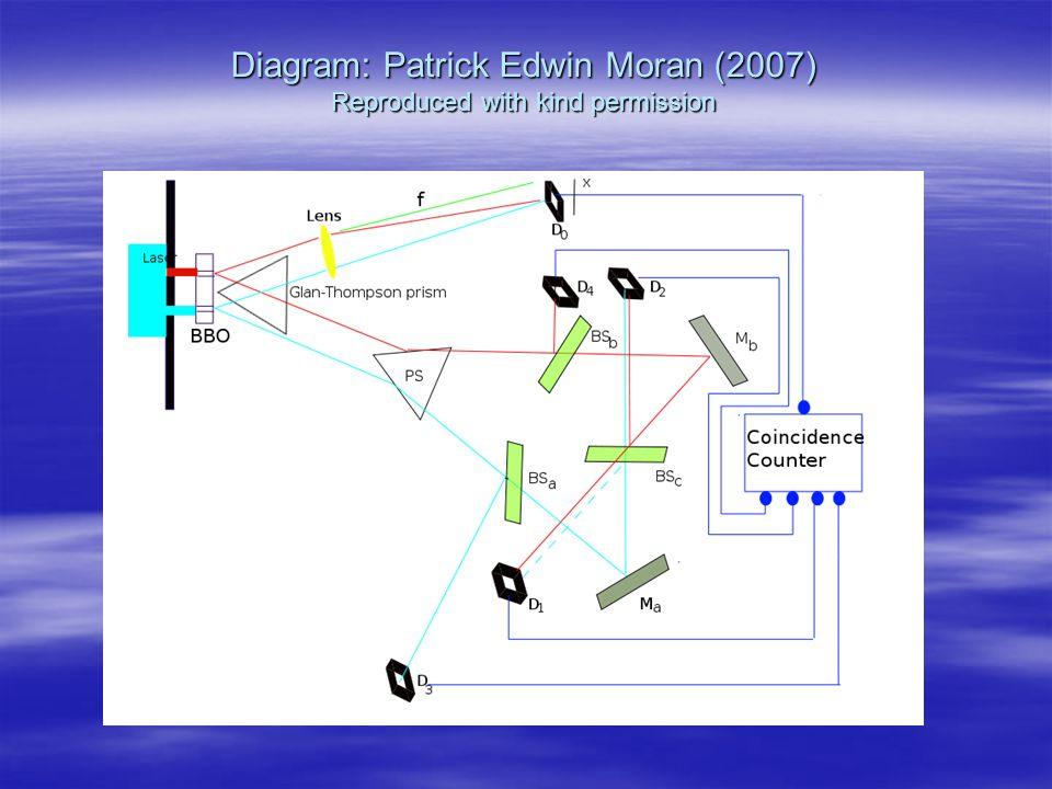 Diagram: Patrick Edwin Moran (2007) Reproduced with kind permission