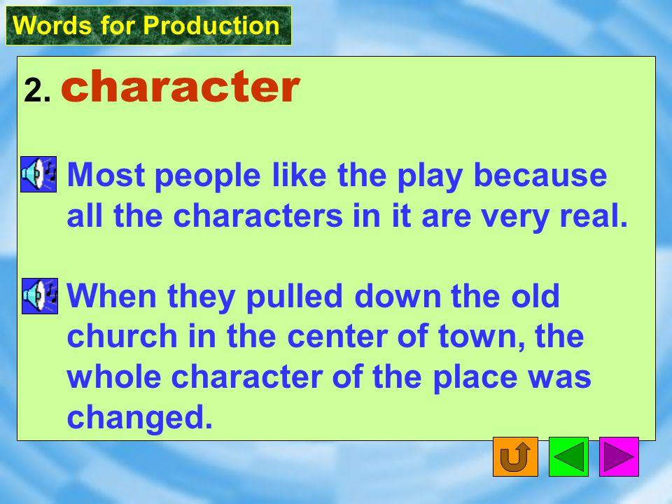 Words for Production 9.load [ lod ] vt.